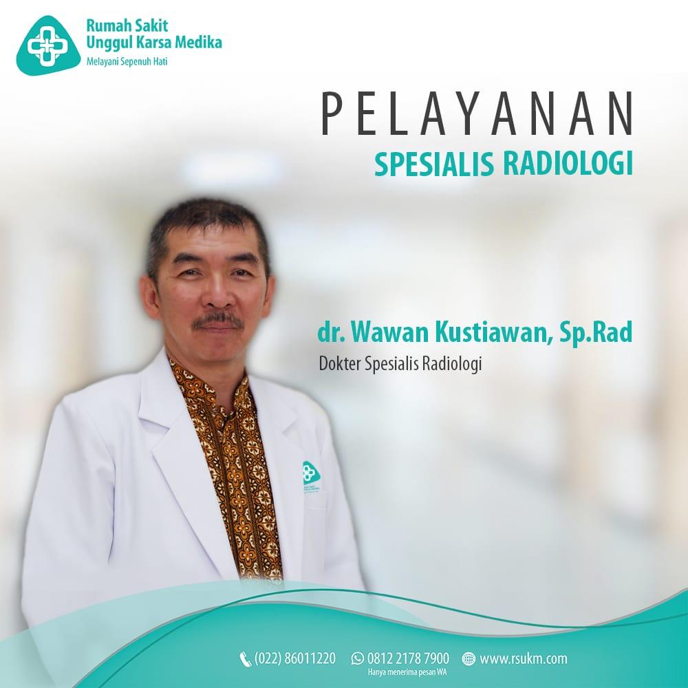 dr. Wawan Kustiawan, Sp.Rad